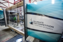 Collegiate Wind Competition Sign