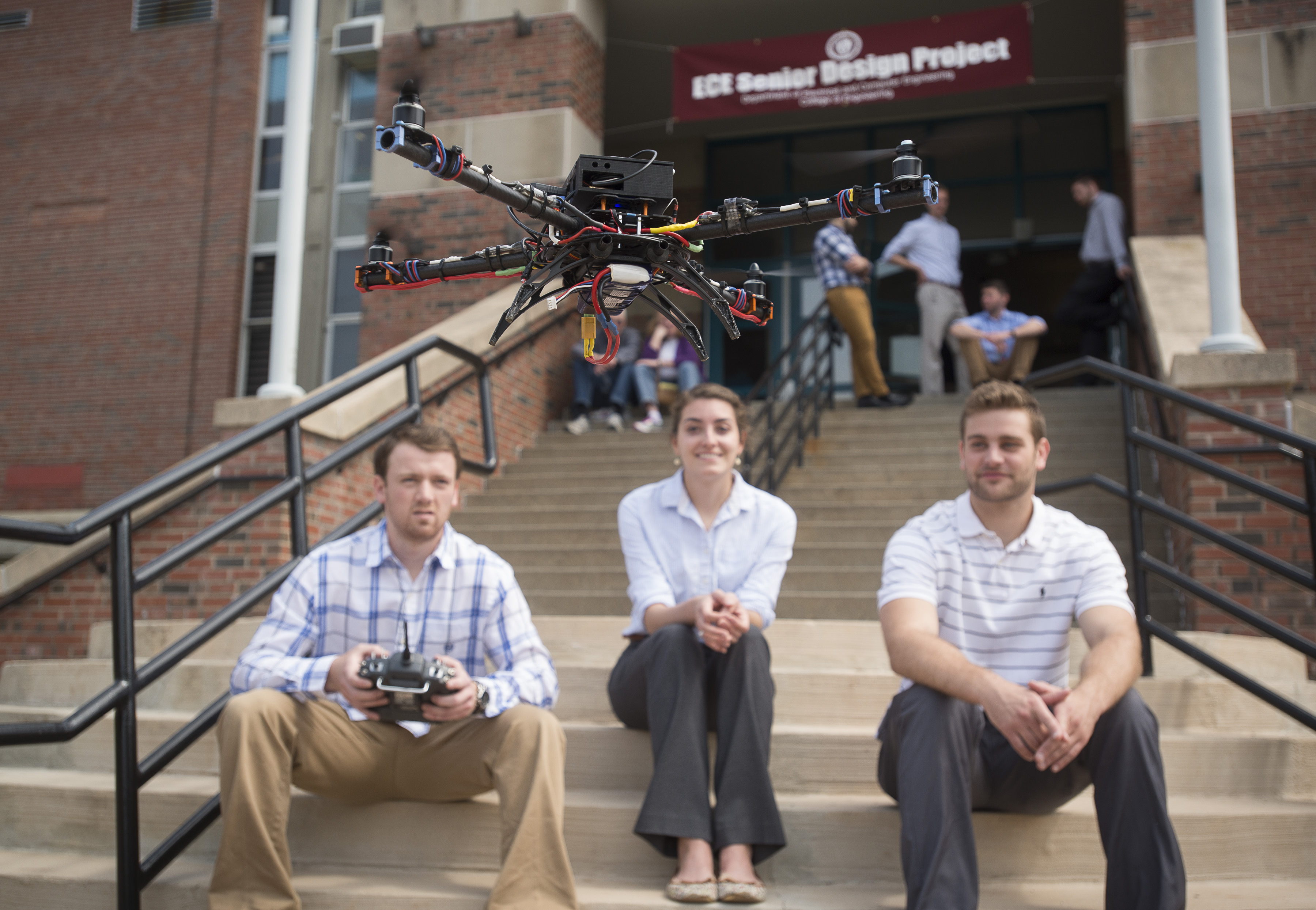 ASPECTS team and their demo drone